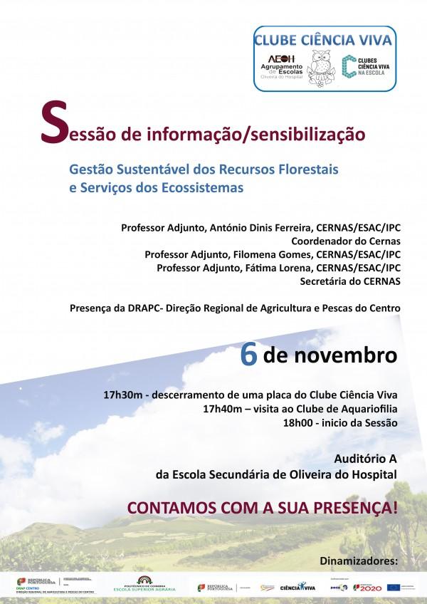 Sessão de informação/sensibilização