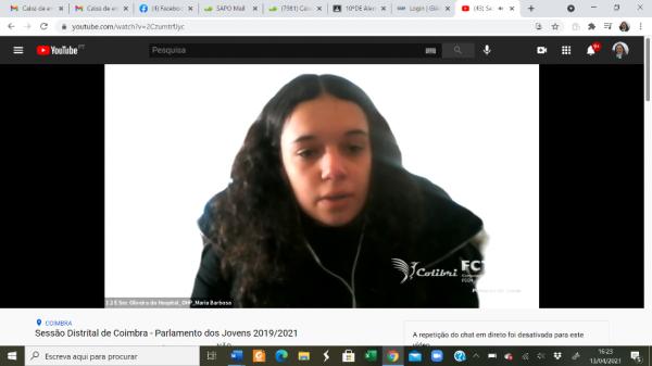 Parlamento dos Jovens 2019-21 – Sessões Distritais