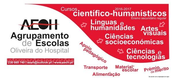 Cursos Científico-Humanísticos 2016-17