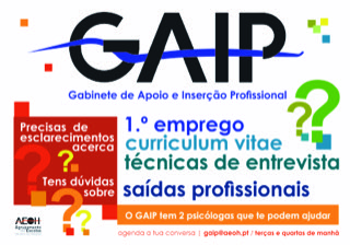 Gabinete de Apoio e Intervenção Profissional (GAIP)